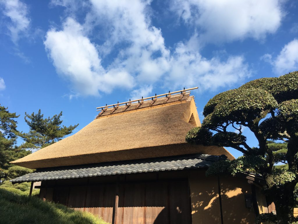 江戸時代の母屋(茶室)